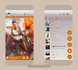 Free Fire Theme For YOWhatsApp & GB WhatsApp By Robson