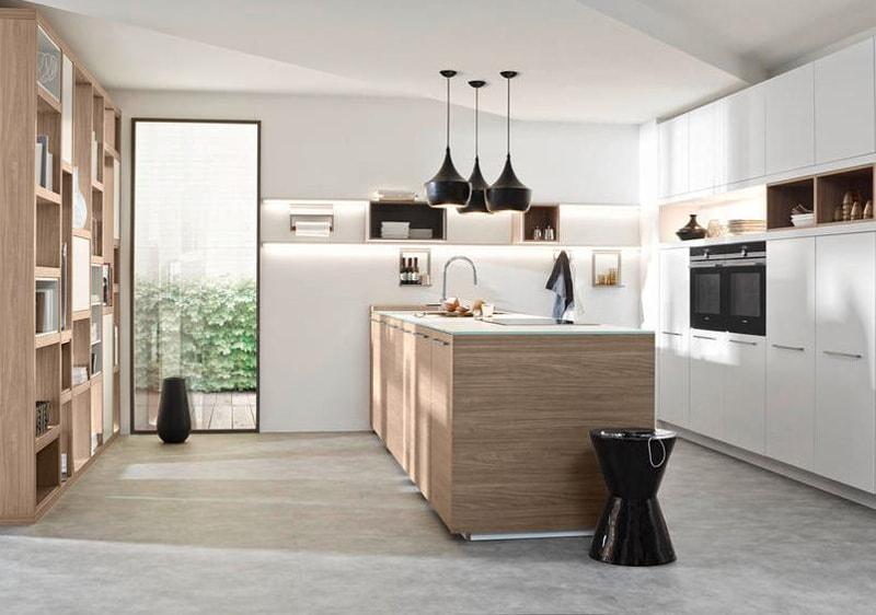 M s ideas de cocinas en blanco y madera ii cocinas con estilo - Nolte cocinas ...
