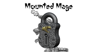 If unlocked, this will add a mounted mage to the Champions pack. Cast in lead-free pewter. Models supplied unpainted.