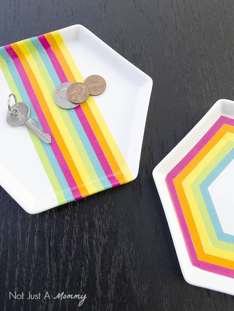 Rainbow Trinket Tray