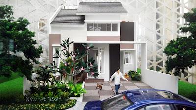 Desain Rumah Orchid 1A dan 1B Citra Indah City