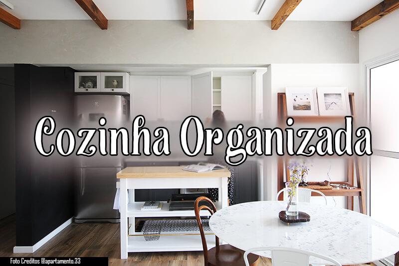 cozinha organizada.