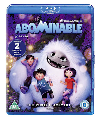 Abominable blu-ray movie case pack shot