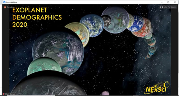 Exoplanet Demographics 2020 Meeting (Source: https://nexsci.caltech.edu/conferences/exodem/)
