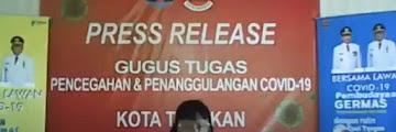 Press Release COVID-19 Tarakan 13 Juli 2020