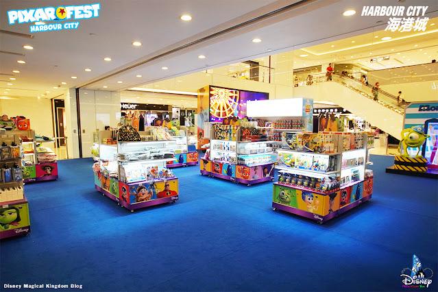 彼思動畫35周年Pixar Fest-pop-up-store-香港海港城-迪士尼與彼思電影場景-Harbour-City