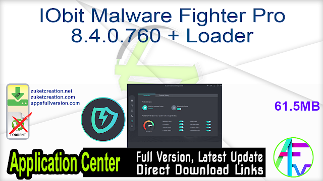 IObit Malware Fighter Pro 8.4.0.760 + Loader