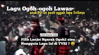 Lagu Ogoh-ogoh Pertama - Anak 90an Pasti Masih Hafal Lagu Ini!