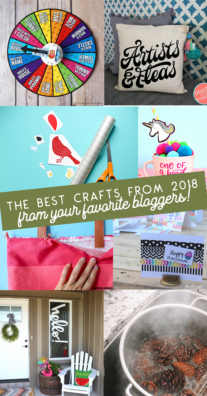 The Best Crafts from Your Favorite Bloggers in 2018
