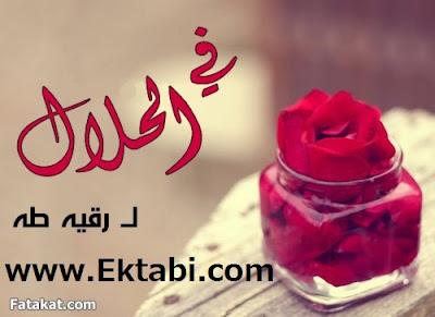 رواية في الحلال pdf رقية طه