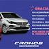 El Fiat Cronos, fue el      más vendido del país
