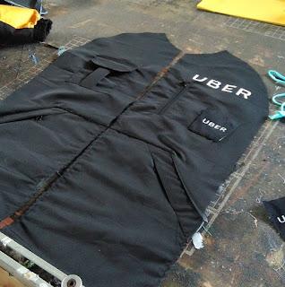 UBER BIKE - Pembuatan Jaket Motor