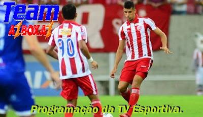Programação da TV Esportiva ''Terça'' 22/01/19