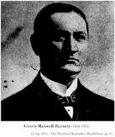 Portrait of Cicero Maxwell Barnett (1864-1915).