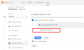 Link Adsense With Google Analytics - 4