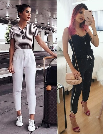 Calças tendência 2020, calça jogger, Camila Coelho, Nah Cardoso