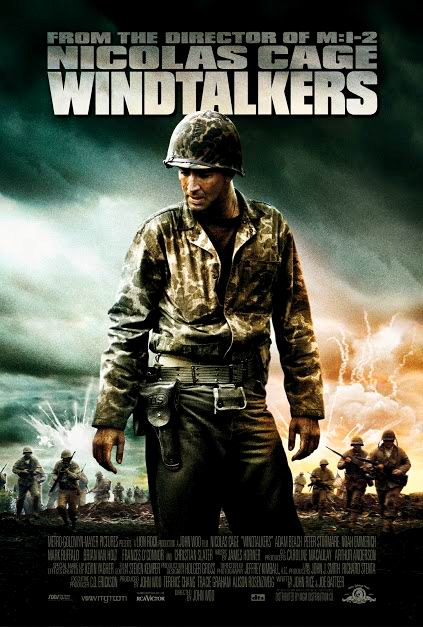 Windtalkers, Les Messagers Du Vent : windtalkers,, messagers, Affiches, Photos, D'exploitation, Bandes, Annonces:, Windtalkers, Messagers, (2000), (15.08.2000, 2000)