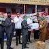 Reses Anggota DPRD Ninjau Posko Check Point dan Kasih Bantuan
