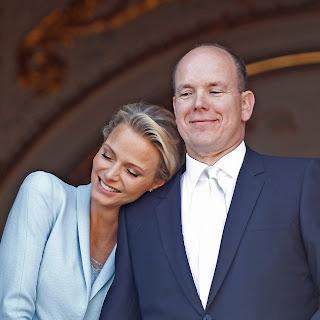 1 Charlene Wittstock & Príncipe Albert de Mônaco