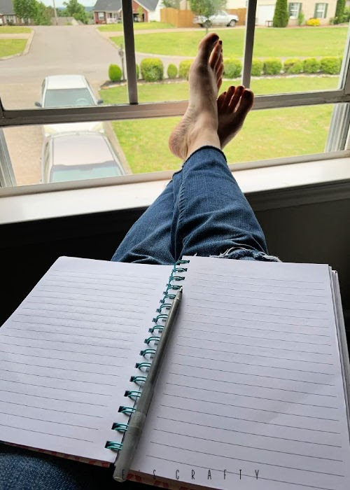 what to do when you're angry or frustrated?  write in your journal