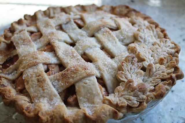 Apple Pie with Food Processor Pie Crust