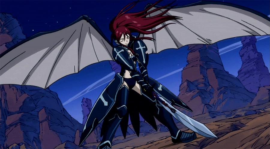 Armor-armor Erza ScarletErza Scarlet Black Wing Armor Cosplay
