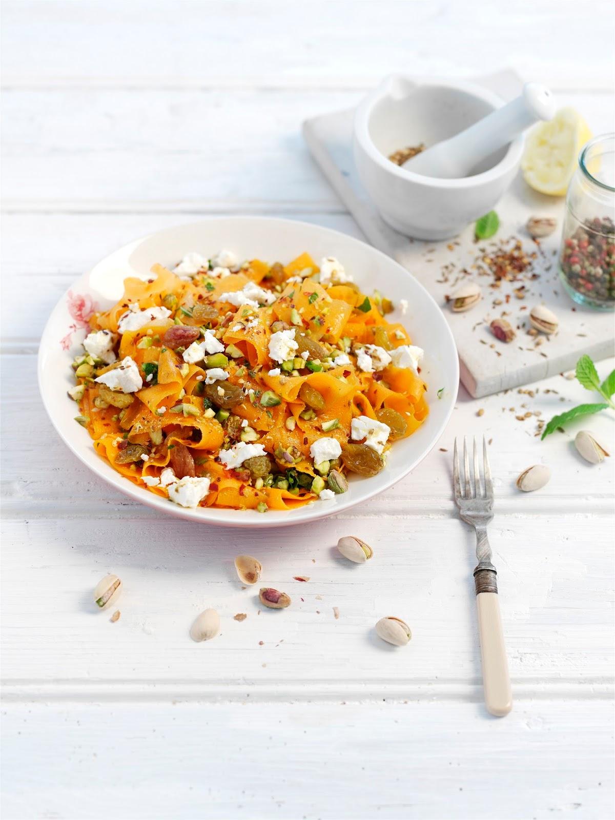 Carrot Pistachio And Feta Salad