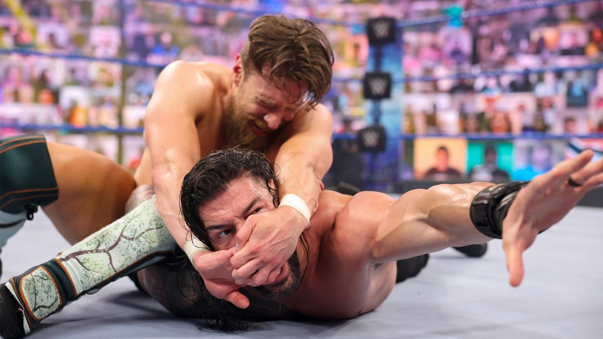 Daniel Bryan and Roman Reigns on WWE SmackDown