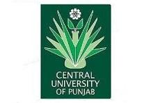 Vacancy for Professor, Associate Professor and Assistant Professor at Central University of Punjab, Bathinda