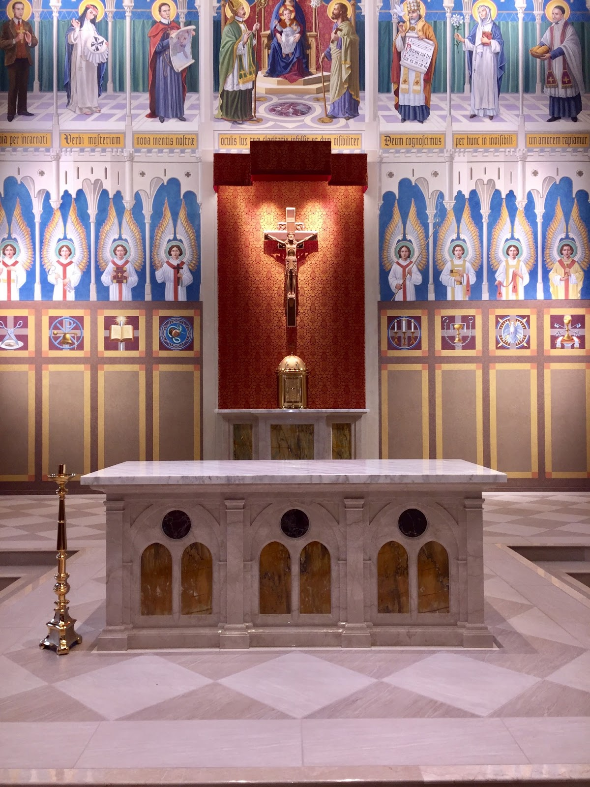 New Liturgical Movement Restoration Of The Josephinum Chapel