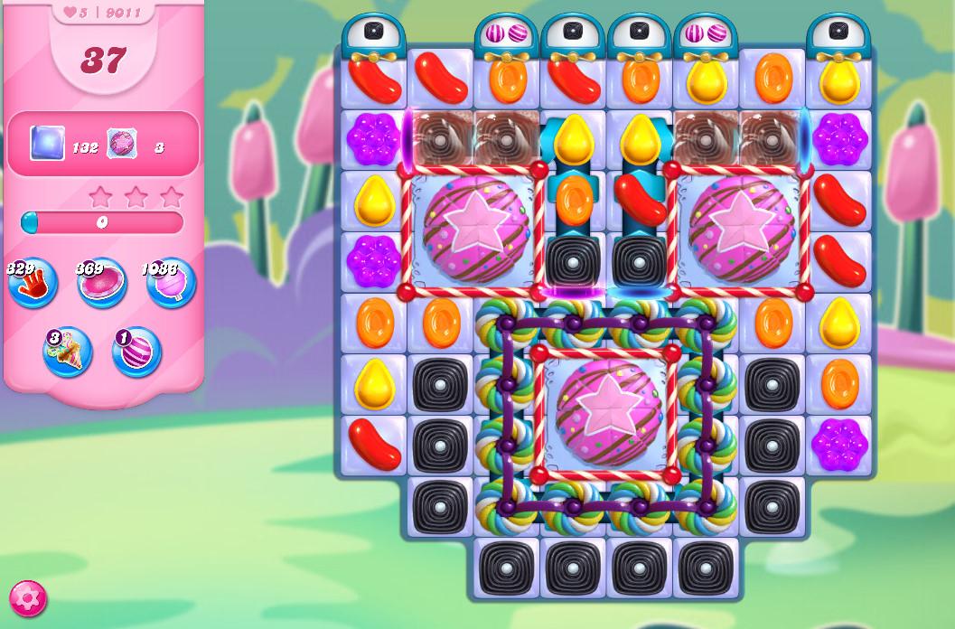 Candy Crush Saga level 9011