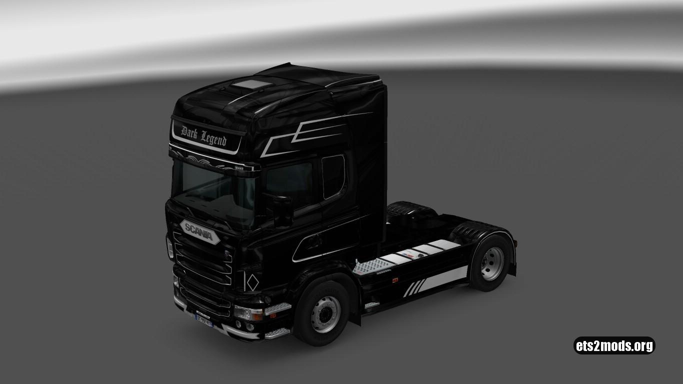 Scania RJL Dark Legend Skin