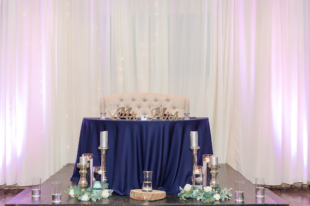 Superstition Manor Weddings Sweetheart Table Decor by Micah Carling Photography