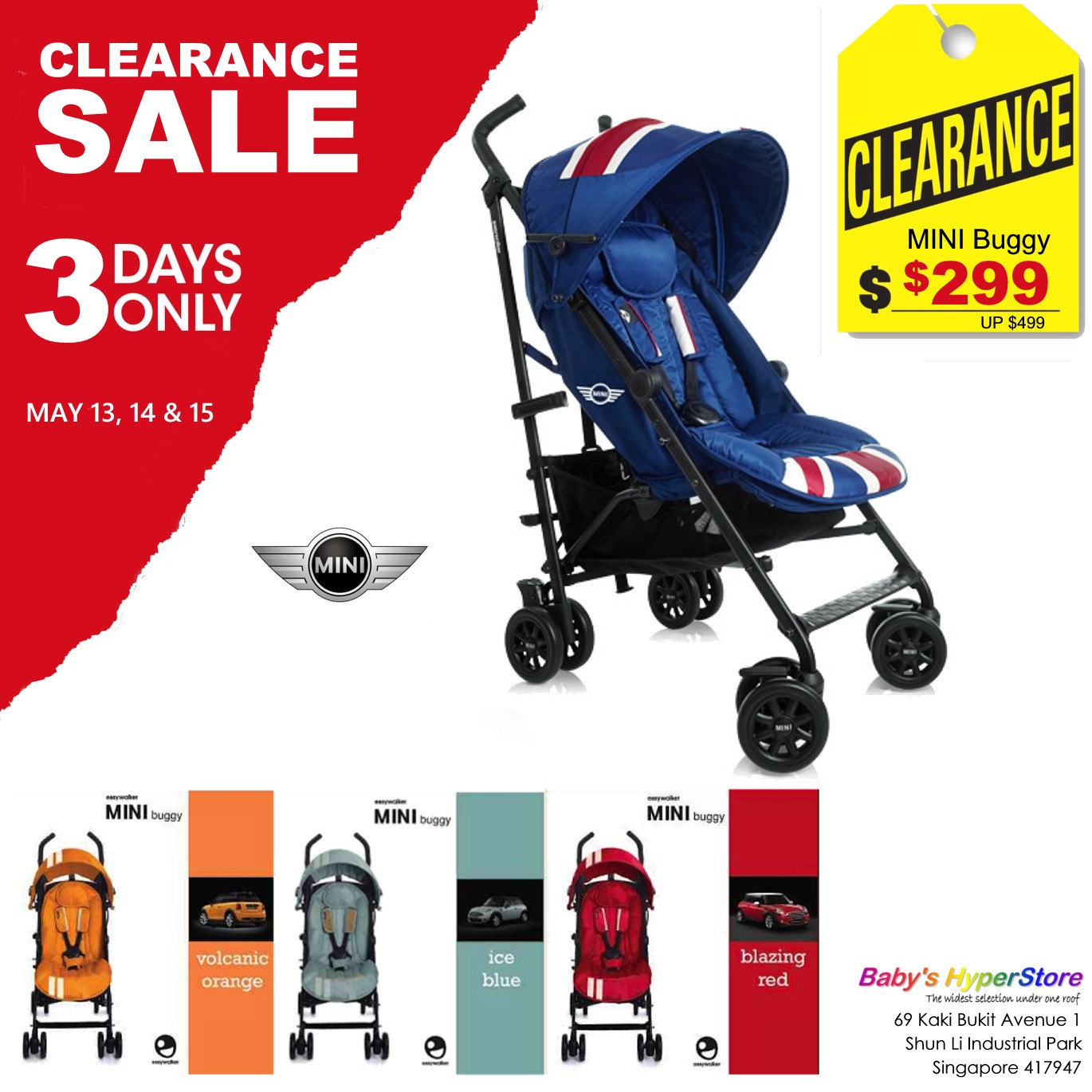 Skim through our new clearance items on the daily to snag deals as they come in. Kids seem to grow faster every day, so it makes perfect sense to score clearance prices on baby gear and stuff for the kiddos.