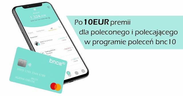 BNC10 - Program Poleceń z premią 10 euro