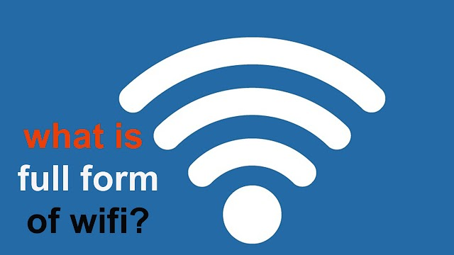 what is full form of wifi ?