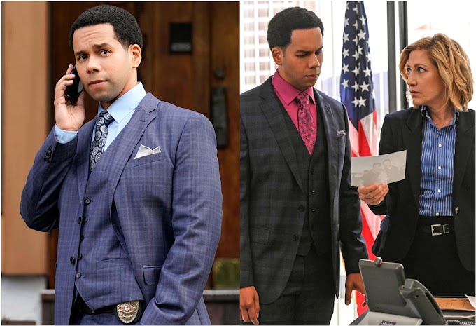 """VIDEO: El dominicano Vladimir Caamaño es el actor mejor vestido de la televisión de EEUU actuando en la serie """"Tommy""""  de CBS"""