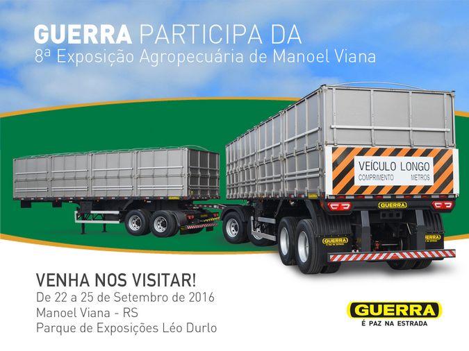 Guerra está na 8ª Exposição Agropecuária de Manoel Viana