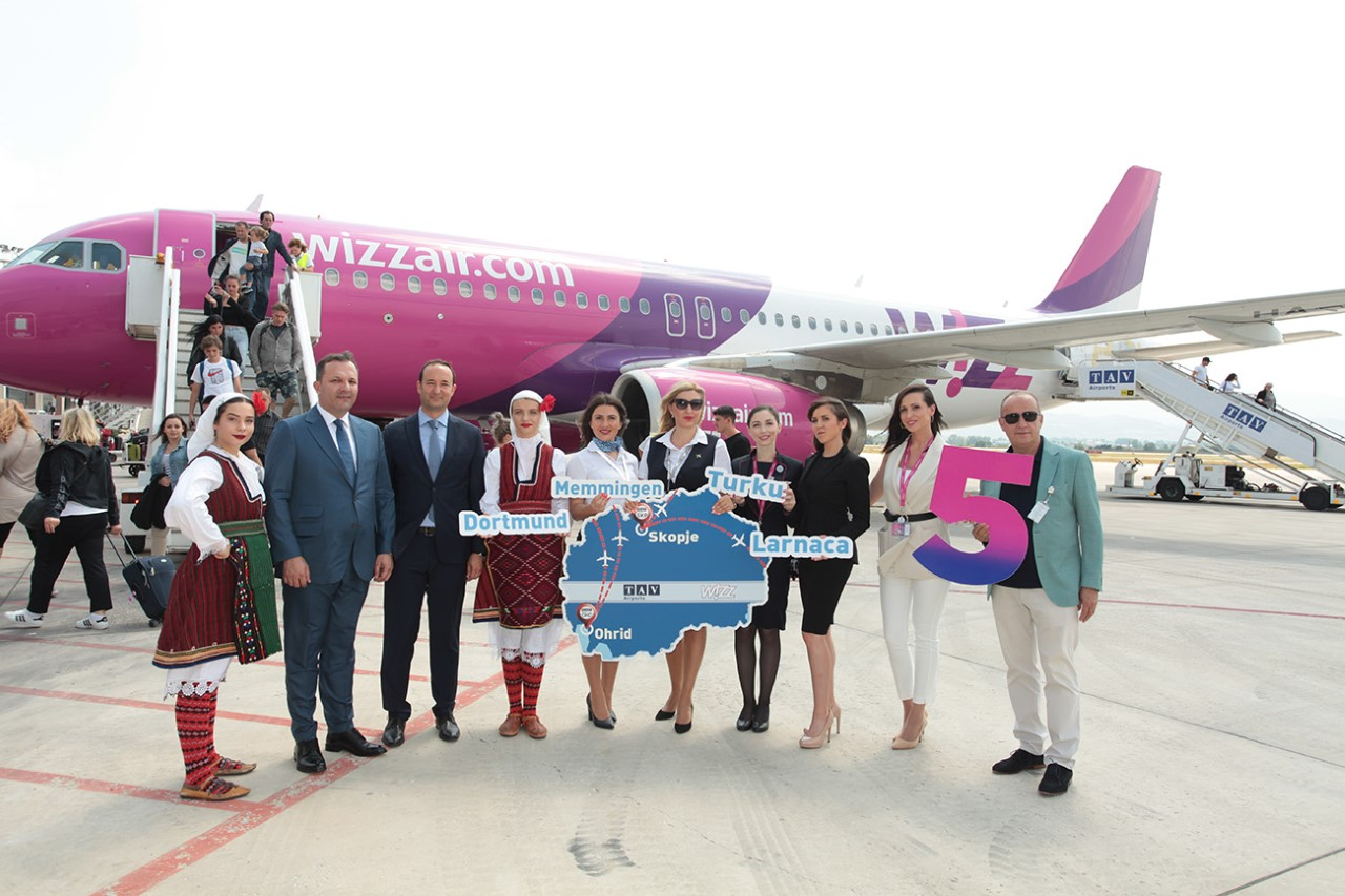 Wizz Air Starts Strong On New Skopje Routes