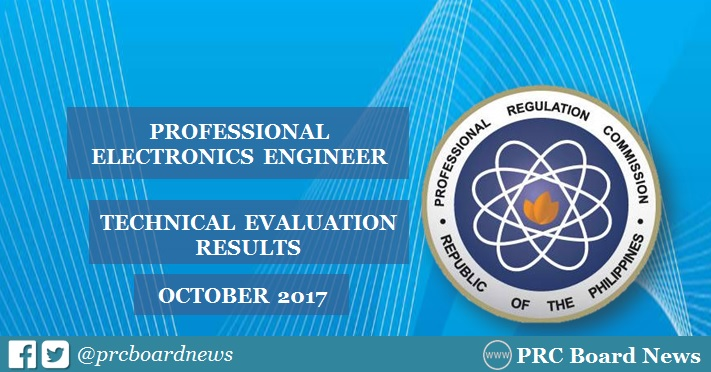 October 2017 Professional Electronics Engineer PECE Technical Evaluation