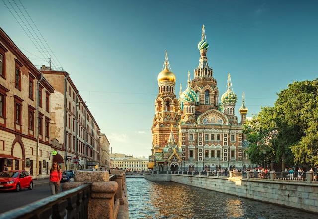 Petersburgo Beijing ciudades amigables