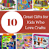 10 Great Gifts for Kids Who Love Crafts (And a Crafty Giveaway)