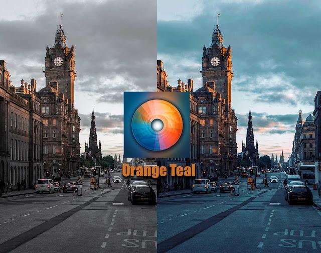 تحميل تطبيق Orange Teal لعمل فلتر البرتقالي وجعل صورك مثل المشاهير