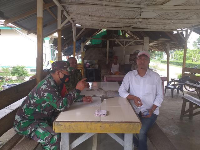 Tidak Bosan Personel Jajaran Kodim 0207/Simalungun Laksanakan Disiplin Protokol Kesehatan Kepada Warga Binaan
