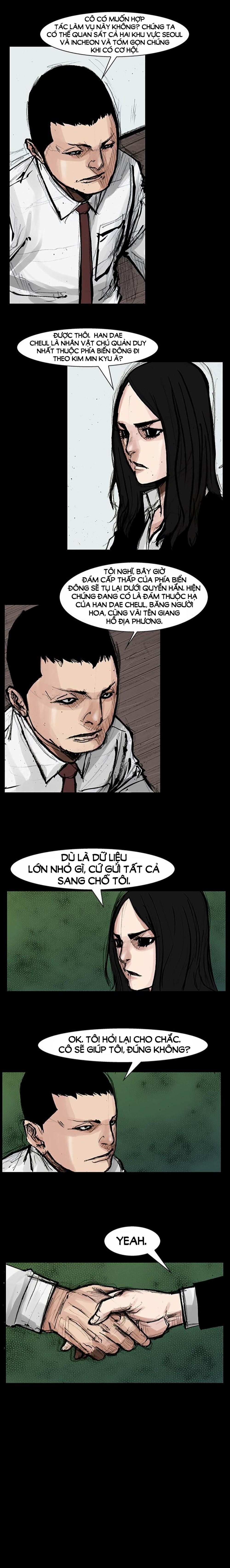 Máu Nhuốm Giang Hồ | Blood Rain chap 32 - Trang 8
