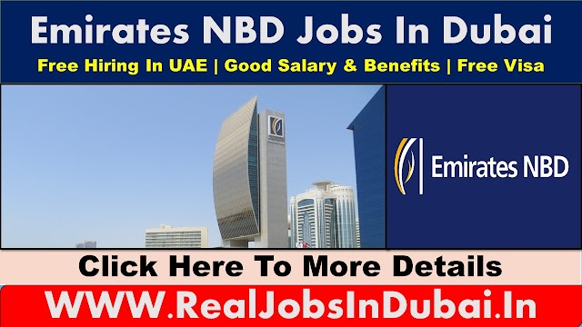 Emirates NBD Jobs Vacancies In UAE