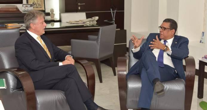Representante del Banco Mundial visita presidente Cámara de Diputados
