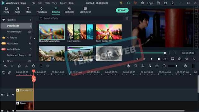 تحميل افضل برنامج مونتاج فيديو سهل الإستعمال – Filmora Video Editor