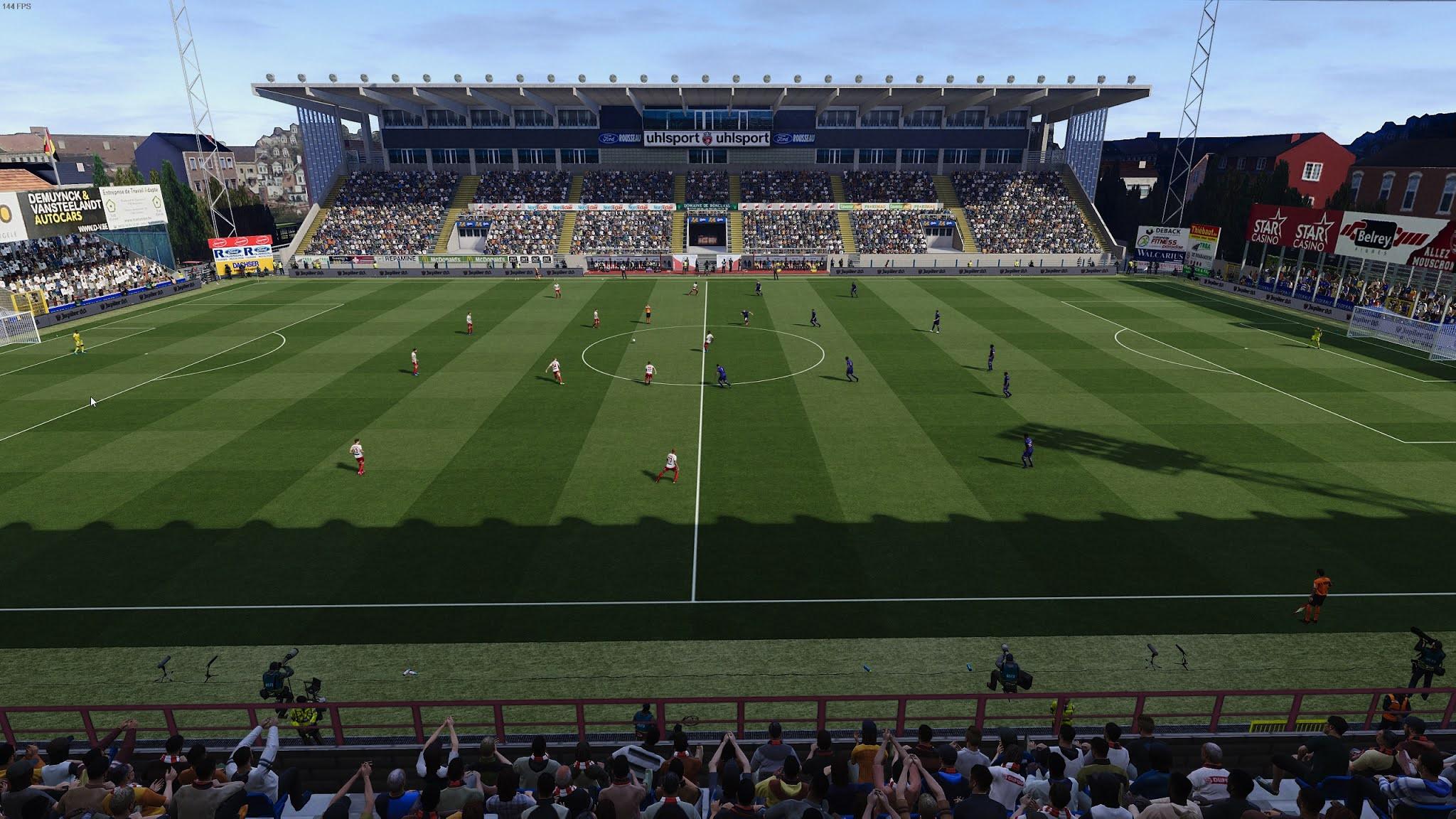 PES 2021 Stade du Canonnier - Royal Excel Mouscron