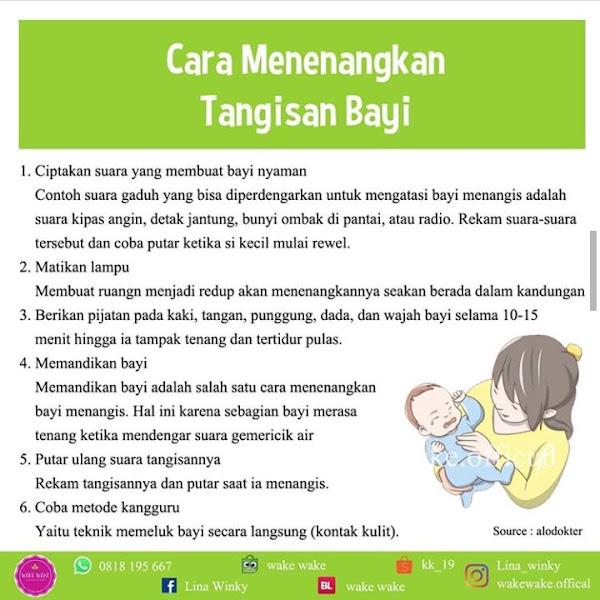 Cara Rahasia Menenangkan Tangisan Bayi